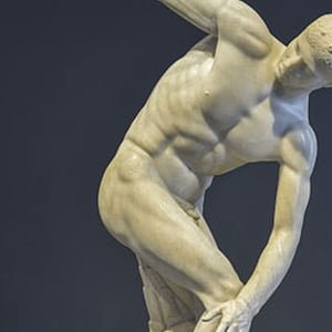 Discobolus Statue - Health and Fitness History