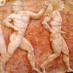 Greek Episkyros (Ball Game)