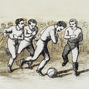 first association football game in Hungary (1879) - Health and Fitness History