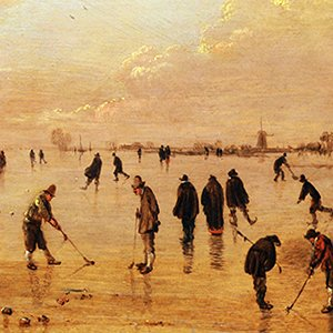 painting of kolf on ice – Health and Fitness History