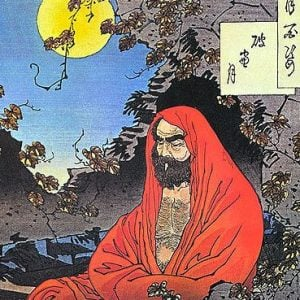 Bodhidharma Illustration (late 19th century) – Health and Fitness History