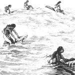 Hawaiian Ancient Surfing