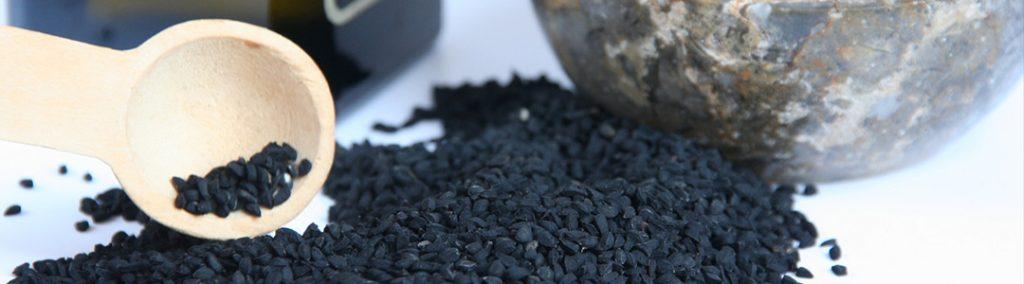 Raw black seeds