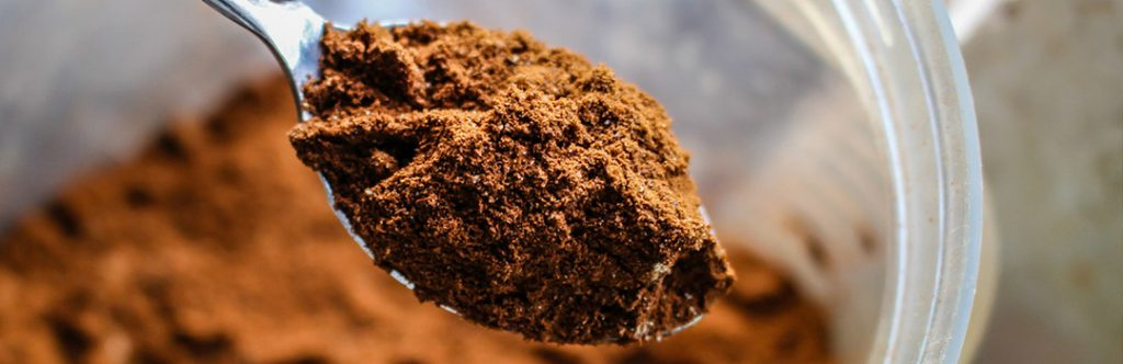 A spoonful of paleo protein powder